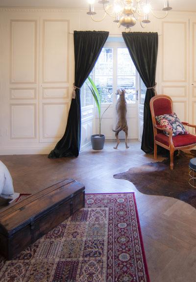 chambre charme avec terrasse vers vulcania