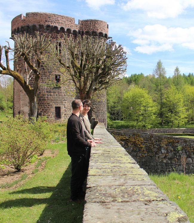 visite chateau puy de dome